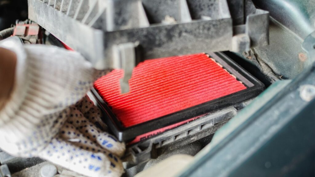 Replace Car Air Filter
